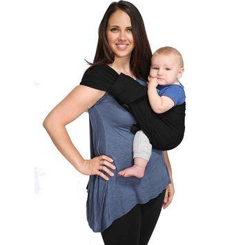 Maya Wrap ComfortFit Ring Sling & Baby Carrier - Black - Medium