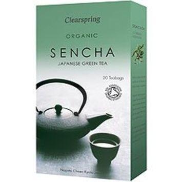 Clearspring - Organic Japanese Sencha - 20 Tea Bags