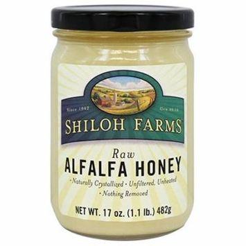 Shiloh Farms Raw Alfalfa Honey, 17 Ounce