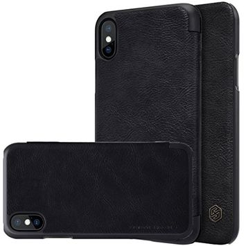 For Apple iPhone X,Sunfei NILLKIN QIN Leather Slim Filp Case Cover