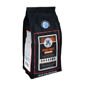 Unique Coffee Roasters French Roast Precision Ground Coffee