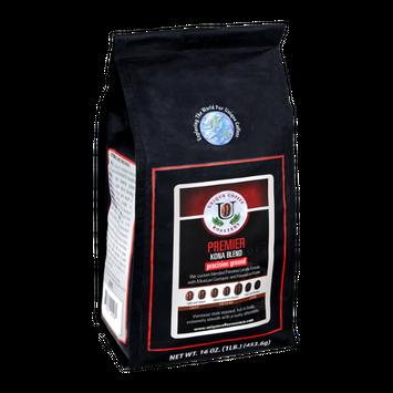 Unique Coffee Roasters Premier Kona Blend Precision Ground Coffee