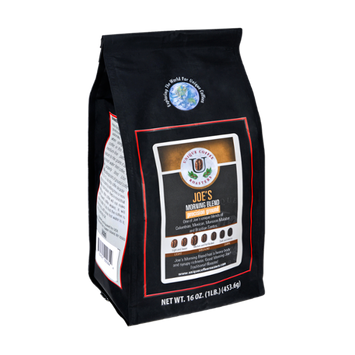 Unique Coffee Roasters Joe's Morning Blend Precision Ground Coffee