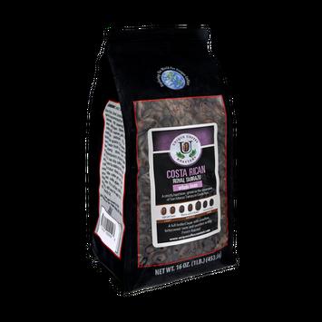 Unique Coffee Roasters Costa Rican Royal Tarrazy Whole Bean Coffee