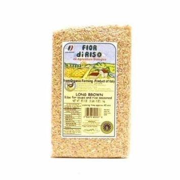 Fior di Riso Organic Long Brown Rice, 16 oz