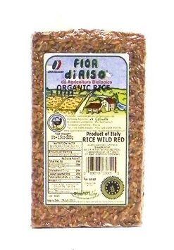 Fior di Riso Orgainc Red Wild Rice 500 grams