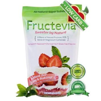 Steviva Fructevia Natural Sweetener, 16 Ounce