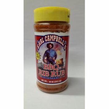 Earl Campbell's Famous BBQ Rib Rub, 10 oz
