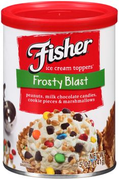 Fisher® Frosty Blast Ice Cream Toppers®