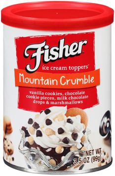 Fisher® Mountain Crumble Ice Cream Toppers®