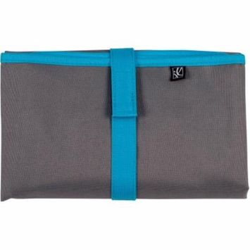 J.L. Childress Full Body Changing Pad, Gray/Teal