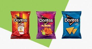 The Best Doritos Flavors: 536K Reviews