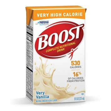 Boost Very High Calorie Nutritional Drink 4390018216 8 oz 1 Each, Very Vanilla
