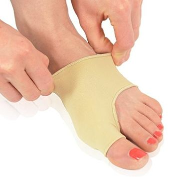 Dr. Foot's Bunion Protector-Bunion Corrector and Comfort Bunion Sleeves for Bunion Relief Before and After Bunion Surgery-1 pair (Large-W7-13 | M5-14)