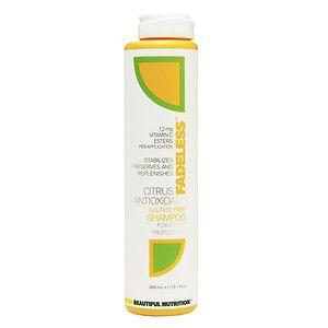 Beautiful Nutrition Fadeless Citrus Antioxidant Shampoo - 13.1 oz