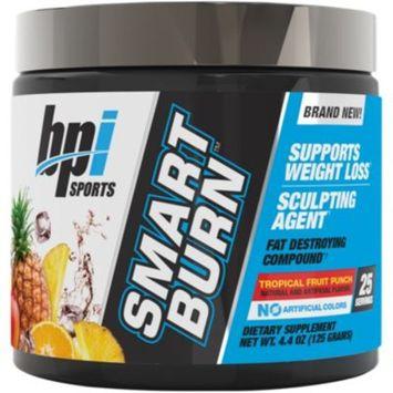Smart Burn Powder - TROPICAL FRUIT PUNCH (4.4 Ounces Powder) by BPI Sports
