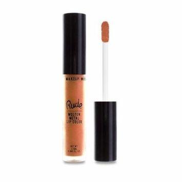 RUDE Molten Metal Lip Color - Extreme Sunburn