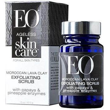 Eo Products Exfoliating Scrub Ageless Moroccan Lava Clay