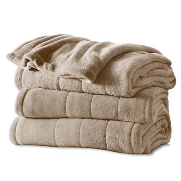 Jarden Home Environment bsm9cts-r772-16a00 S Mcroplsh Htd Blanket Mshrm T