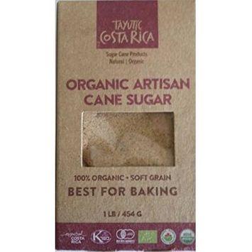 Tayutic Soft grain Organic Whole Cane Sugar 16 Oz - Azúcar Integral Orgánico grano suave (Pack of 1)