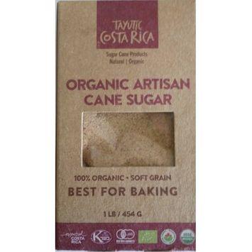 Assukkar, S.a. Tayutic Soft grain Organic Whole Cane Sugar 16 Oz - Az ocar Integral Org! nico grano suave (Pack of 6)