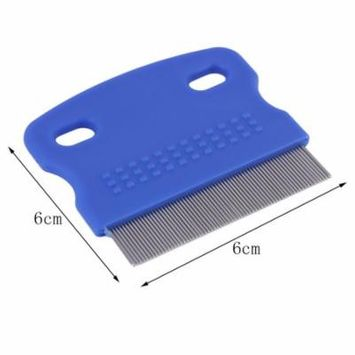 Pet Cat Dog Small Steel Fine Toothed Grooming Flea Comb Debris Removal ToolOn Sale