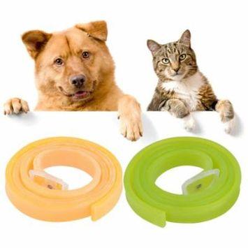 Waterproof Non-toxic No Insecticides Dog Cat Repel Tick Flea Quick Kill Remover Pet Protection Aroma Neck Collar