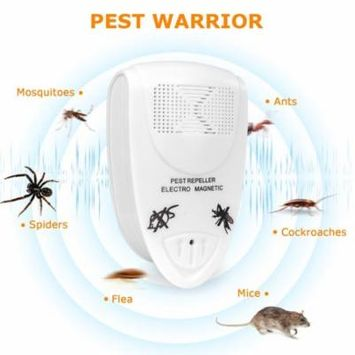 5pcs Ultrasonic Mosquito Pest killer Pest Repellers Electronic Spider Repellent Plug In for Insect Mouse Bug Mosquito Ant Flea