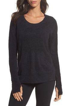 Barefoot Dreamsr Women's Barefoot Dreams Cozychic Lite Pullover, Size Small - Black