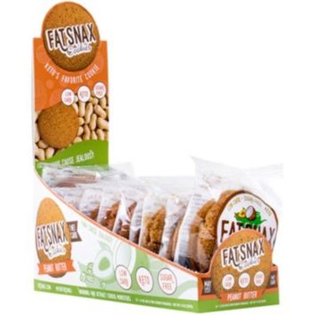 Fat Snax Cookies - PEANUT BUTTER (10 Cookie) by Fat Snax at the Vitamin Shoppe