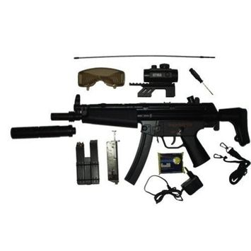 WELL D95 Electric Fully Automatic MP5 AIRSOFT GUN 230-FPS AIRSOFT GUN