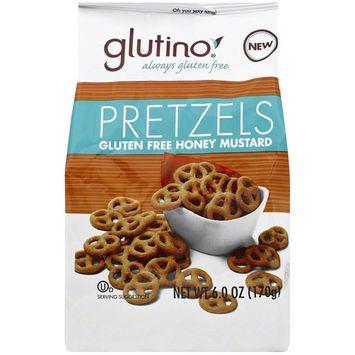 Glutino Gluten Free Honey Mustard Pretzels, 6 oz, (Pack of 6)
