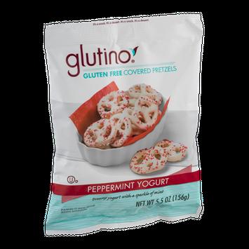 Glutino Gluten Free Covered Pretzels Peppermint Yogurt