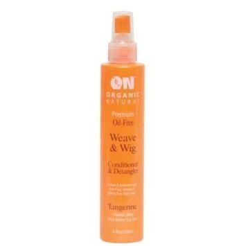 ON Organic Natural Premium Oil-Free Weave & Wig Conditioner & Detangler Tangerine 2.0 fl oz