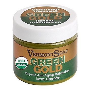 Certified Organic Green Gold Herbal Moisturizer 1.9 oz