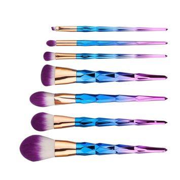 Makeup Brush Set,SMTSMT 2017 Super Soft 6PCS Cosmetic Eyeshadow Brush-Purple