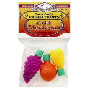 El Club Mexicano El Club Mexicano Flavor Candy, 1 oz