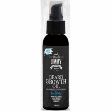 Uncle Jimmy Beard Growth Oil, Cool Oak 2 oz