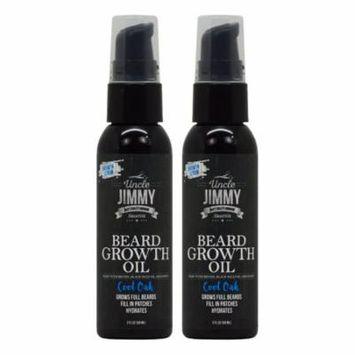 Uncle Jimmy Beard Growth Oil Cool Oak 2oz