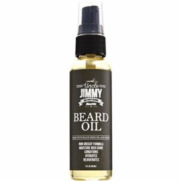 4 Pack - Uncle Jimmy Beard Oil 2 oz