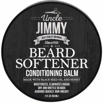 4 Pack - Uncle Jimmy Beard Softener Conditioning Balm 2 oz