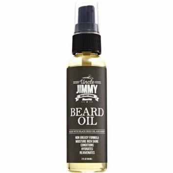 6 Pack - Uncle Jimmy Beard Oil 2 oz
