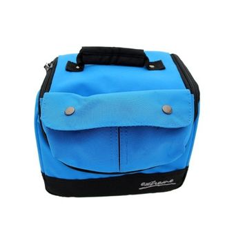 Extreme Insulated Lunch Bag Blue and Black