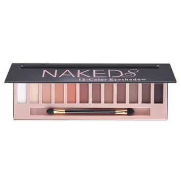 SMTSMT 12 Colors Makeup Shimmer Matte Naked Eyeshadow Powder Makeup Palette Cosmetic with Brush