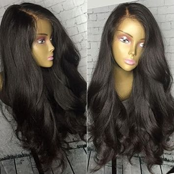 Cupidlovehair 150% Density Loose Wave Mongolian Virgin Remy Human Hair Full Lace Wigs For Women Natural Black With A Lot Baby Hair
