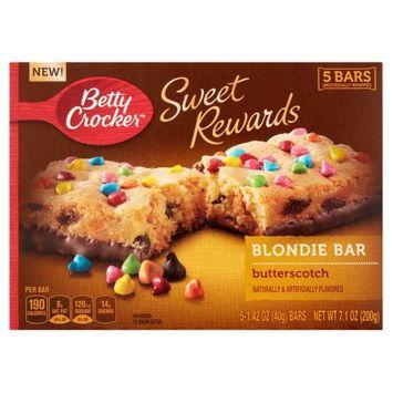 Betty Crocker™ Sweet Rewards Butterscotch Blondie Bars