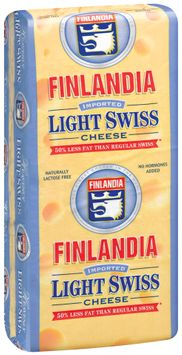 Finlandia Imported Lightly Swiss Cheese 1 Ct Wrapper
