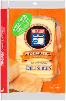Finlandia® Natural Muenster Cheese Deli Slices