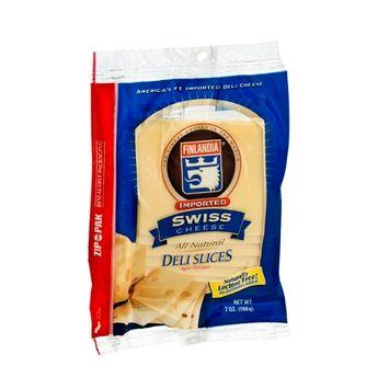 Finlandia Imported Swiss Cheese Deli Slices