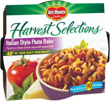 Del Monte® Harvest Selections Italian Style Pasta Bake Microwave Bowl